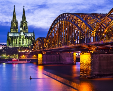 Cologne Cathedral in Cologne, Germany. photo