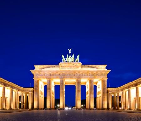 brandenburg: Brandenburg Gate in Berlin, Germany.