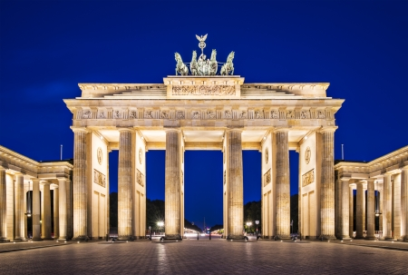 brandenburg: Brandenburg Gate in Berlin, Germany.