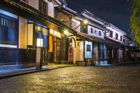 Historische Bikan District in Kurashiki, Okayama, Japan.