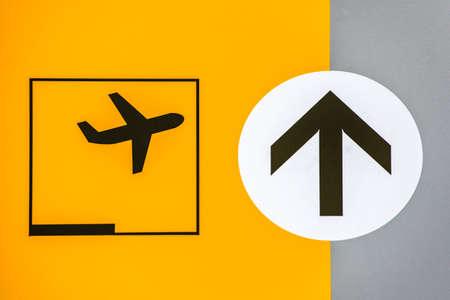 空港サイン