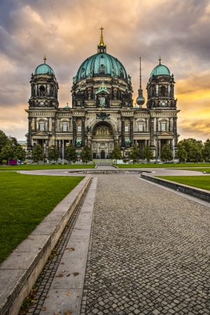 Cathedral of Berlin, Germany. photo