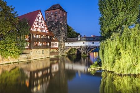 Nürnberg, Deutschland Stadtpanorama.
