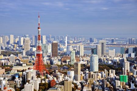 tokyo tower: Tokyo Tower in Tokyo, Japan.