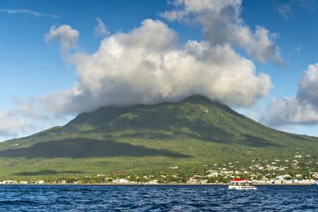 antilles: Nevis  Stock Photo