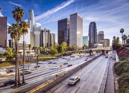 Los Angeles, California, USA binnenstad stadsbeeld.