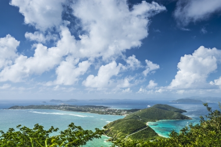 spanish landscapes: Virgin Gorda in the British Virgin Islands of the Carribean.