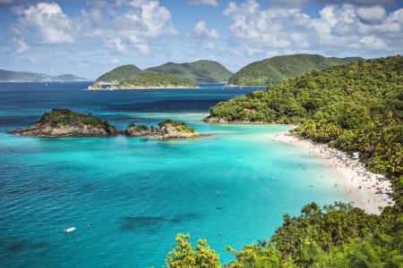st john: Trunk Bay, St John, United States Virgin Islands.