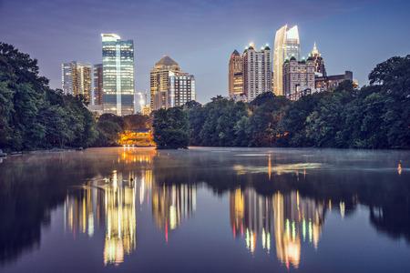Atlanta, Georgia, USA at Piedmont Park. Stock Photo - 25863616
