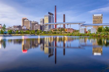 Birmingham, Alabama, USA city skyline. photo