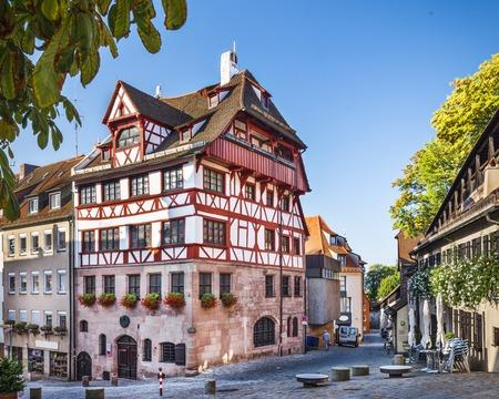 durer: Nuremberg, Germany at the historic Albrecht Durer House. Editorial