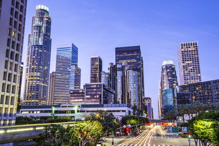 Los Angeles, Kalifornien, USA Innenstadt Stadtbild.