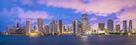 Miami, Florida, USA skyline panorama. photo