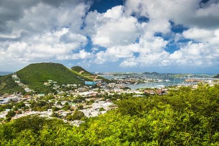 Philipsburg, Sint Maarten, Nederlandse Antillen Stockfoto