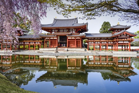 culture: Kyoto, Japan at Byodo-in Temple.