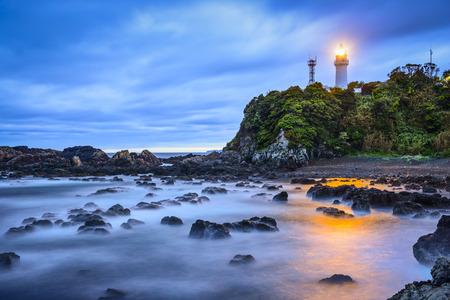 honshu: Shionomisaki Cape, Kushimoto, Japan. The cape marks the southern most point on Honshu, the main island of Japan.