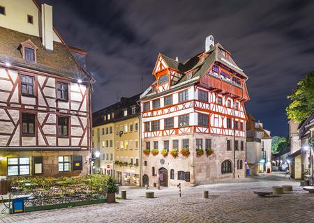 durer: Nuremberg, Germany at Albrecht Durer house. Stock Photo