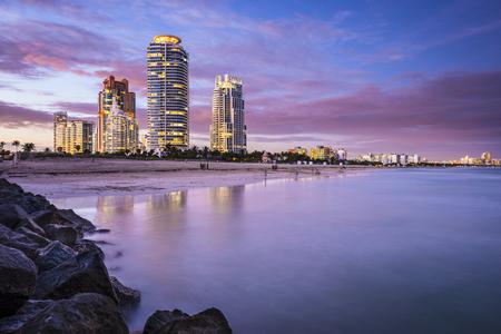 floridian: Miami, Florida, USA at South Beach. Stock Photo
