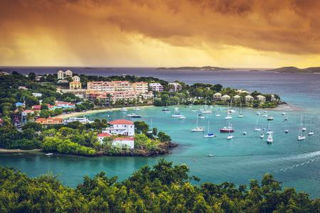 St. John, US Virgin Island at Trunk Bay.