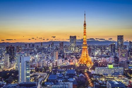 tokyo japan: Tokyo, Japan City Skyline