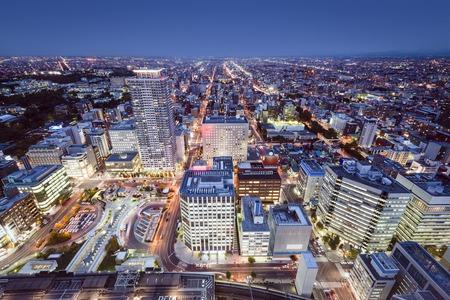 sapporo: Sapporo, Japan cityscape in the Central Ward.
