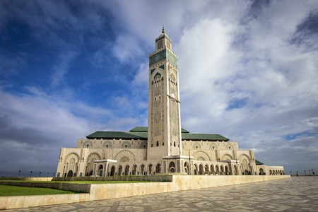 east africa: Casablanca, Morroco at Hassan II Mosque.