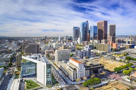 Los Angeles, California, USA Innenstadt Stadtbild.