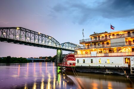 showboat: Chattanooga, Tennessee, USA on the Tennessee River.