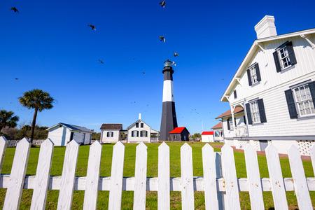 tybee island: Tybee Island Light House of Tybee Island, Georgia, USA.