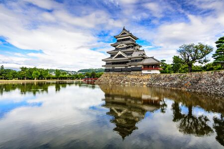 matsumoto: Mastumoto Castle in Matsumoto, Japan.