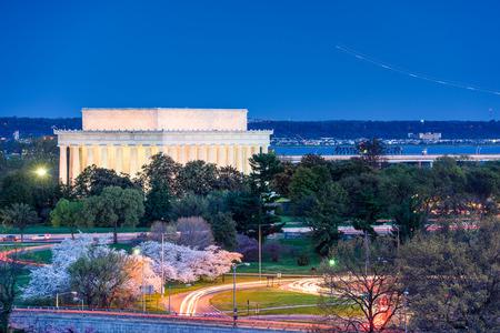 lincoln: Washington, D.C. at Lincoln Memorial.