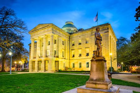 노스 캐롤라이나 주, 롤리 (Raleigh) 주 의사당 건물