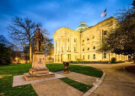 legislature: State Capitol Building in Raleigh, North Carolina, USA