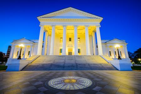 リッチモンド、バージニア州、アメリカ合衆国リッチモンド州議会議事堂。