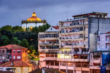 nova: Vila Nova de Gaia, Portugal at Serra de Pilar Monastery. Stock Photo