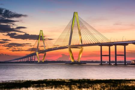 Arthur Ravenel Jr. Bridge in Charleston, South Carolina, USA