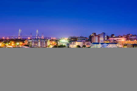 in charleston: Charleston South Carolina Skyline.