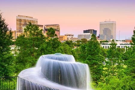 Finlay Park Fountain in Columbia, South Carolina, USA
