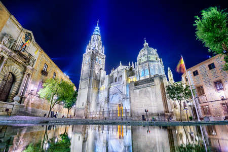 primate: The Primate Cathedral of Saint Mary of Toledo in Toledo, Spain