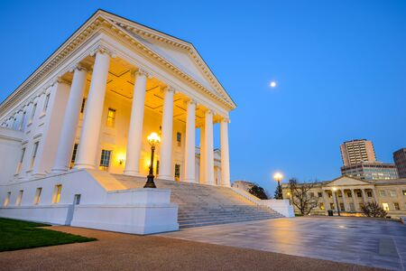 the Capitol Building in Richmond, Virginia, USA
