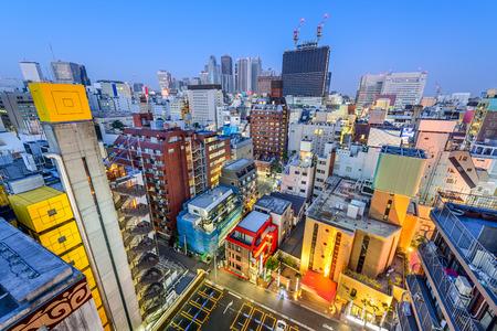 Shinjuku, Tokyo, Japan cityscape at twilight. Stock Photo