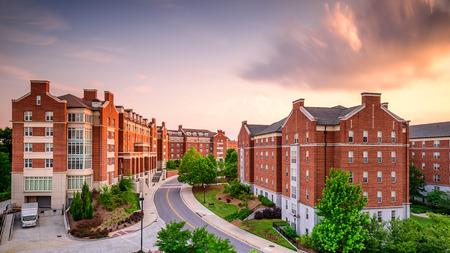 Dormitory apartment buildings at the University of Georgia in Athens, Georgia, USA. Фото со стока - 41067622