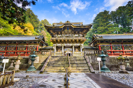 Nikko, Japan at Toshogu Shrine.
