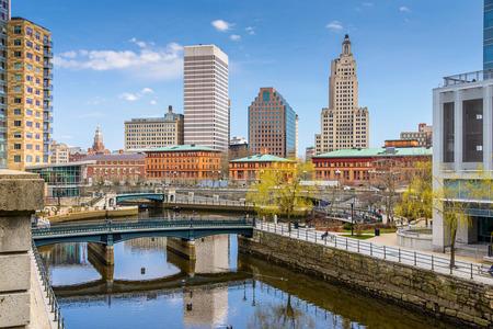 providence: Providence, Rhode Island, USA skyline at Waterplace Park.