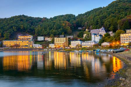 ryokan: Kawaguchi, Japan lakeside hotels.