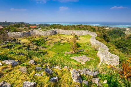 okinawa: Okinawa, Japan at Nakagusuku Castle ruins. Editorial