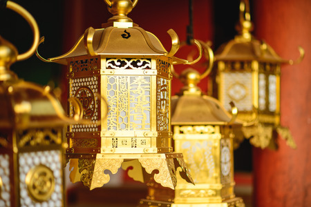 japon: Lanternes japonaises à Kasuga-taisha dans Nara, au Japon