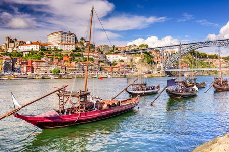 douro: Douro River in Porto Portugal