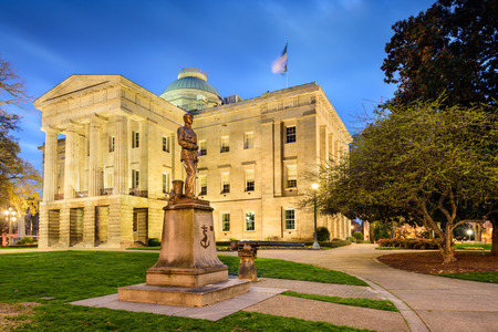 Raleigh North Carolina State Capitol