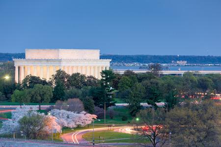 Washington, D.C. at Lincoln Memorial.